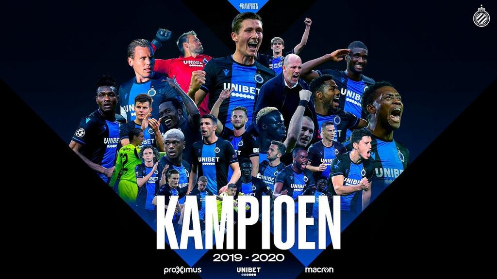 Official Belgian League Declared Over And Club Brugge Announced As Champions Besoccer
