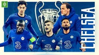 O Chelsea é campeão da UEFA Champions League 2020-21. BeSoccer