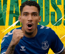 Allan has joined Everton. Captura/Everton