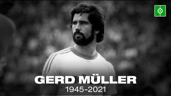Gerd Muller took Germany to World Cup glory in 1974. EFE/Archivo