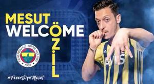 Özil al Fenerbahçe. Fenerbahçe