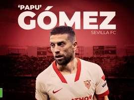 Il Papu Gomez al Siviglia. BeSoccer
