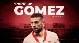 Papu Gómez agora é do Sevilla. BeSoccer