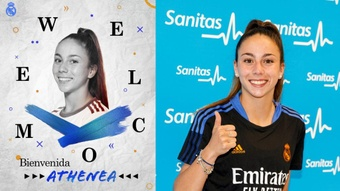 Athenea, nova jogadora do Real Madrid.RealMadridFemenino
