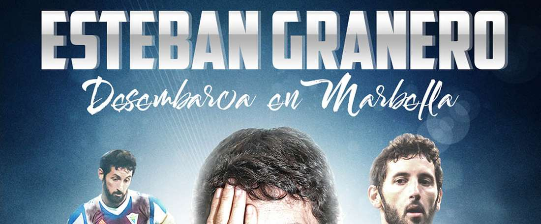 Marbella surpreende com contratação de Granero. Twitter/Marbella_fc