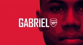 OFICIAL: Gabriel ficha por el Arsenal. Twitter/Arsenal
