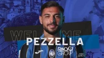 Giuseppe Pezzella joins Atalanta. AtalantaBC