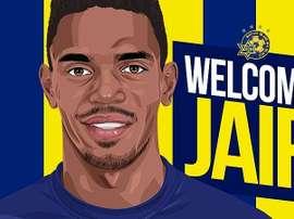 Jair abandona el Huesca. MaccabiTLVFC