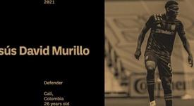 Los Ángeles FC compra a Jesús David Murillo. LAFC