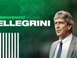 O Betis confirma Pellegrini até 2023. RealBetis