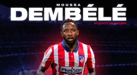 Moussa Dembele has joined Atletico Madrid on loan. BeSoccer.