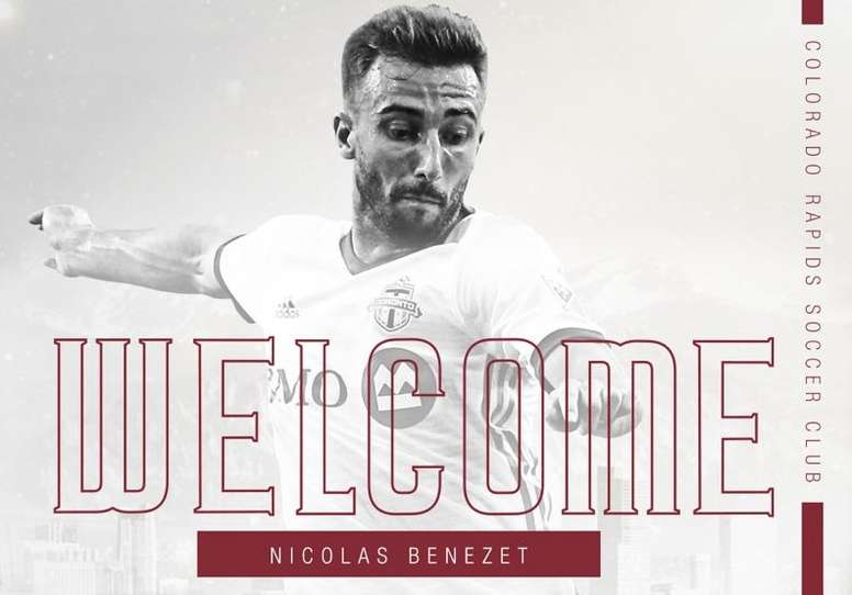 El Colorado Rapids incorpora a Nicolas Benezet. ColoradoRapids