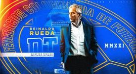 Rueda volverá a dirigir a Colombia. Twitter/FCFSeleccionCol