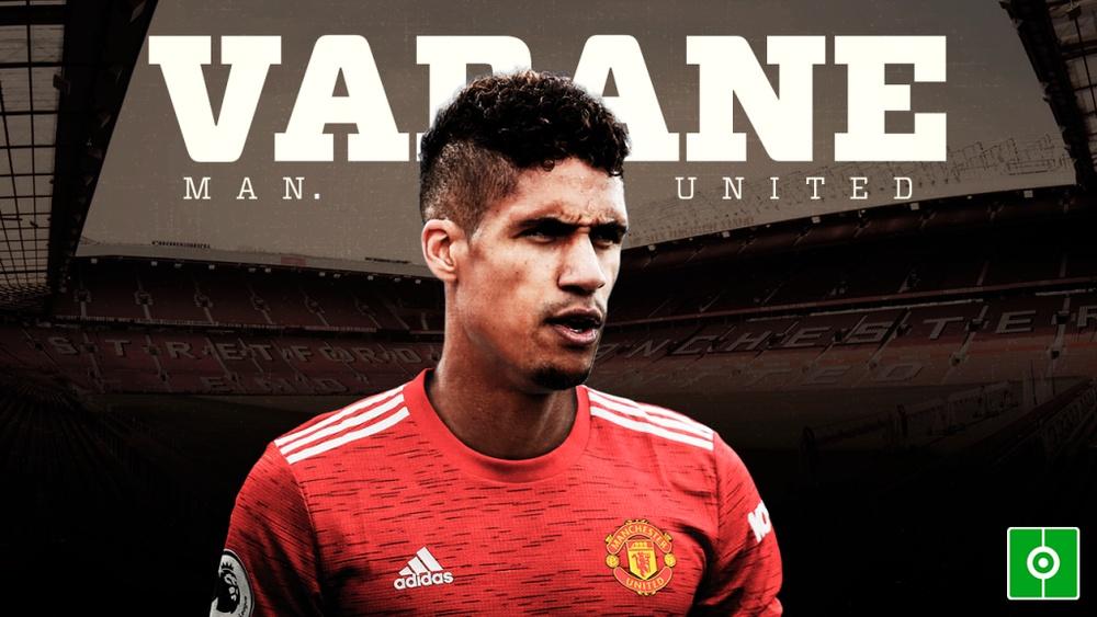 Varane, al United. BeSoccer