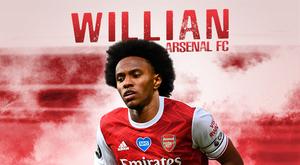Willian è un nuovo giocatore dell'Arsenal. BeSoccer
