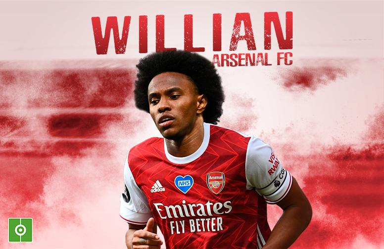 Willian llega tras acabar contrato con el Chelsea. BeSoccer