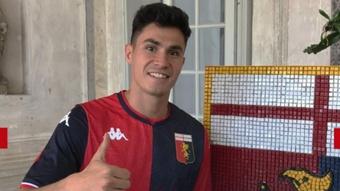 Pablo Galdames, al Genoa. Genoa