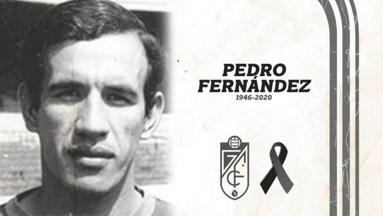 Fallece Pedro Fernández, el jugador con más partidos en Primera del Granada. GranadaCdeF