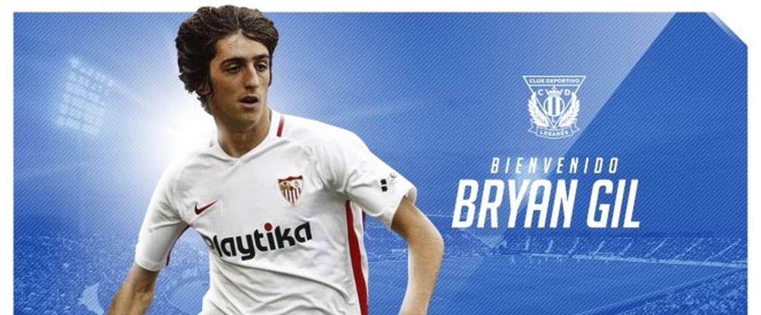 OFFICIEL : Bryan Gil part en prêt à Leganés. CDLeganés