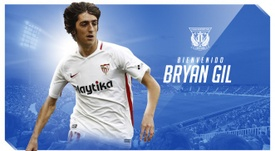 Bryan Gil joins Leganes for the rest of the season. CDLeganes