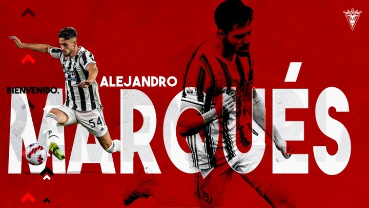 Alejandro Marqués jugará en el Mirandés esta temporada. Twitter/CDMirandes