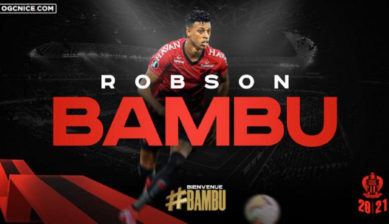 Robson Bambu passed his medical. OGNice