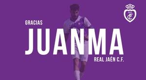Sigue el lío en el Jaén: la rescisión de su capitán, oficial. Twitter/RealJaenCF