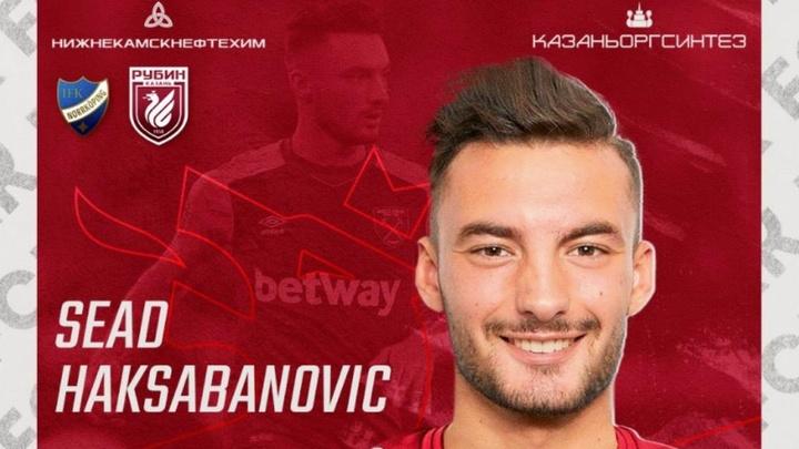 Haksabanovic, a la Liga Rusa. RubinKazán
