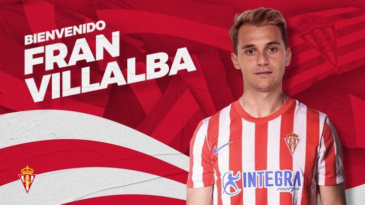 Fran Villalba, al Sporting. SportingDeGijón