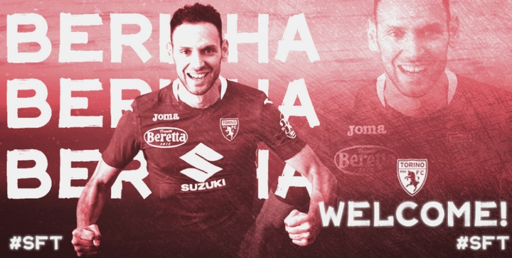 Berisha, al Torino. TorinoFC