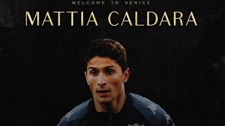 Le Milan prête Mattia Caldara à Venise. VeneziaFC
