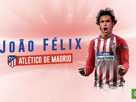 Atleti have confirmed the capture of João Félix. BeSoccer
