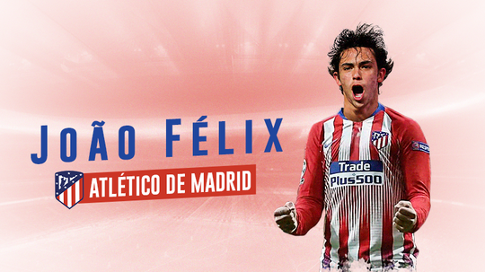 Atleti have confirmed the capture of João Félix. BeSoccer