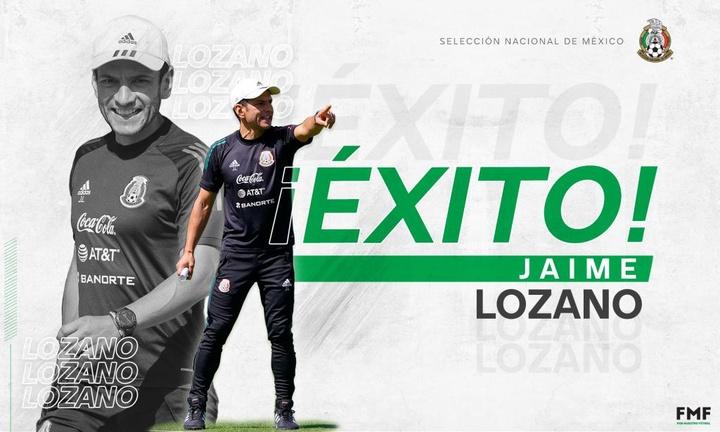 Lozano deja México tras su bronce en Tokio. Twitter/miseleccionmx
