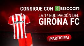 Consigue la primera equipación del Girona. BeSoccer