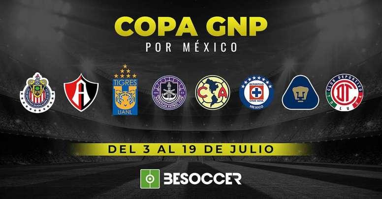 La Copa GNP está lista. BeSoccer