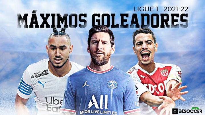 Así va la tabla de goleadores de la Ligue 1 2021-22. BeSoccer Pro
