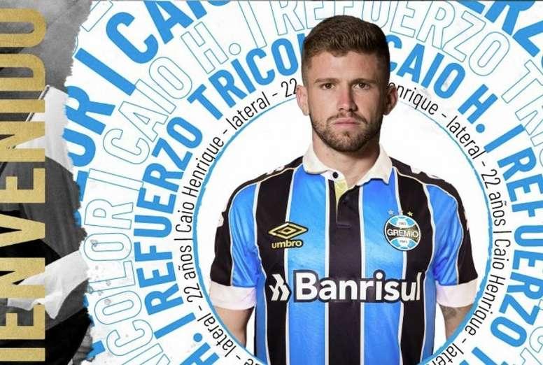 L'Atletico prête Caio Henrique à Grêmio. Gremio_Es