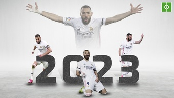 Real Madrid have renewed Benzema. BeSoccer