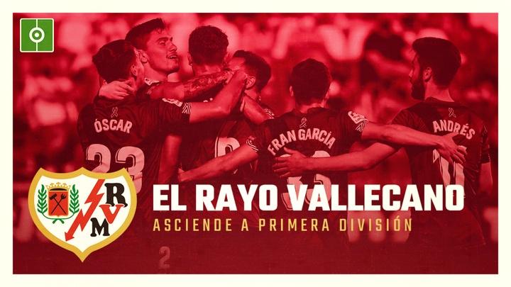 El Rayo Vallecano asciende a Primera División. BeSoccer