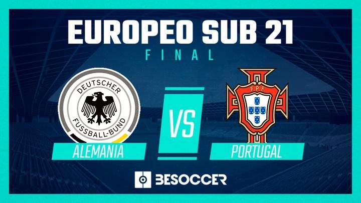 Alemania y Portugal, finalistas del Europeo Sub 21. BeSoccer