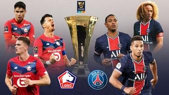 Suivez le direct du match Lille- PSG. BeSoccer