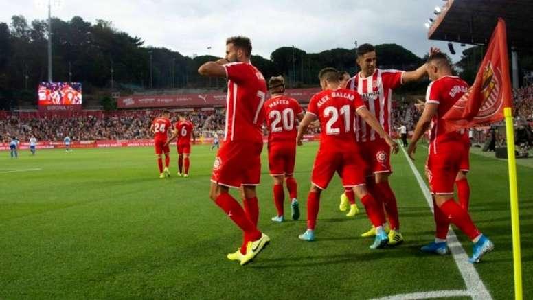 El optimismo se ha instalado en Montilivi. GironaFC