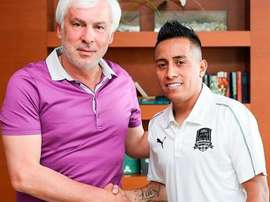 Cristian Cueva firmó con el conjunto ruso hasta 2022. Krasnodar