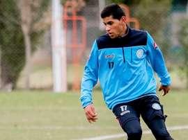 Cristian Romero está más cerca de tener su primera experiencia europea. Twitter/Belgrano