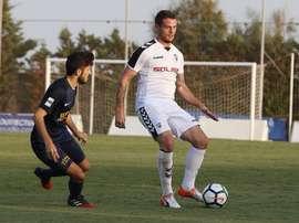 El ex del Albacete recaló este verano en el Alcoyano. AlbaceteBalompié