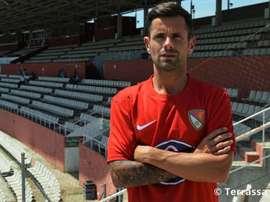 Cristian García es el nuevo entrenador del Terrassa FC. TerrassaFC