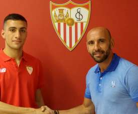 Cristian González, un mes de baja. SevillaFC