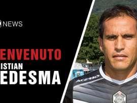 L'Italien Cristian Ledesma s'engage à Lugano. FCLugano