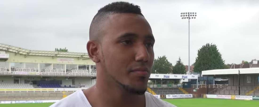Cristian Montaño defenderá dos temporadas la camiseta del Port Vale. Youtube